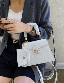 Fashion White Crossbody Shoulder Bag