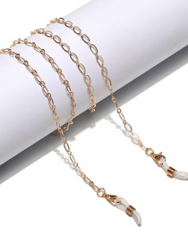 Fashion Golden Thick Chain Hollow Alloy Eyeglass Chain