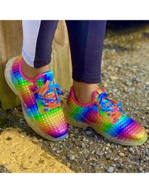 Fashion Color Plus Size Running Sneakers