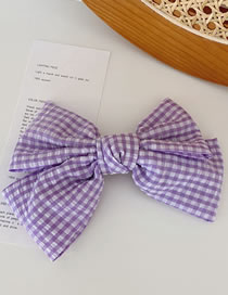 Fashion Section A Purple Super Large Bow Hair Clip