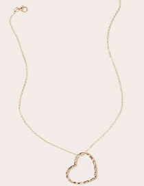 Fashion Love Love Moon Alloy Hollow Necklace
