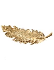 Fashion Leaves 1 Alloy Leaf Geometric Hairpin