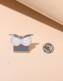 Fashion Owl Owl Paint Dripping Brooch