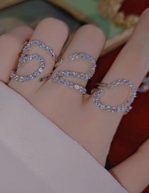 Fashion Paragraph One Open Lucky Number 1314 Adjustable 520 Ring