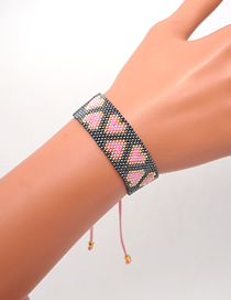 Fashion Love Rice Beads Hand-woven Love Bracelet