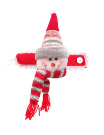 Fashion Snowman Curtain Buckle Christmas Snowman Elk Santa Claus Curtain Buckle