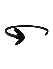 Fashion Black Machine Tool Alloy Anchor Bracelet