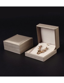 Fashion Golden Square Packing Box