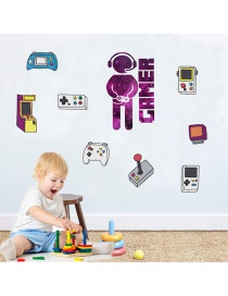 Fashion 30*90cm*2 Pieces In Bag Packaging Game Console Wall Sticker