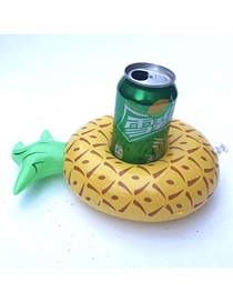 Fashion Pineapple Cup Holder Pvc Inflatable Pineapple Beverage Cup Holder