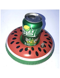 Fashion Watermelon Cup Holder Pvc Inflatable Watermelon Drink Cup Holder