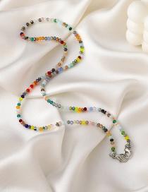 Fashion Color Color Crystal Glasses Chain