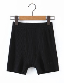 Fashion Black Pit Shorts