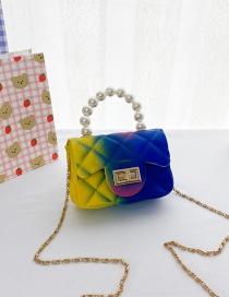 Fashion C Children's Color Pearl Handbag