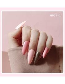 Fashion 1# Nail Patch Finished Fake Nails
