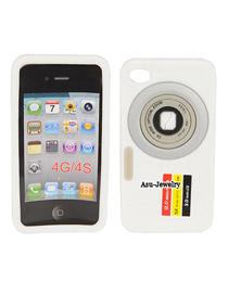Extra White Camera Design Silicon Iphone 4 4s