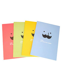 Toddler Color will be random Note Book