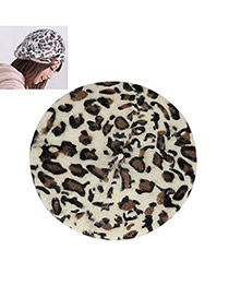 Estate Leopard Flatcap Beret Hair Fashion Hats