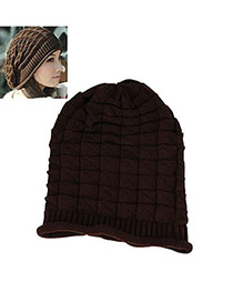 Arrowhead Coffee Earmuffs Knitting Wool Fashion Hats