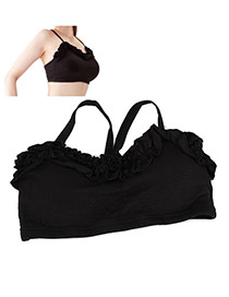 Ruby Black Lace Design Cloth Slimming products