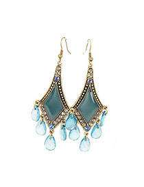 Faddish Bronze Bohemian Vintage Style Alloy Korean Earrings