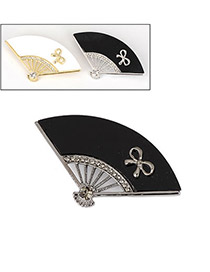 Color will be random Fanshaped Alloy Fashion Brooches