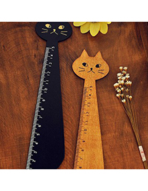 Ferret Color Will Be Random Long Neck Cat Design Wooden Other Creative Stationery