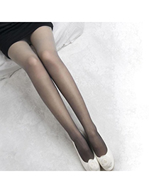 Inexpensiv Grey Jacquard Design Velvet Fashion Stockings