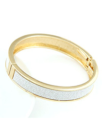 Decorative Champagne gold round shape simple design