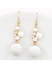 Venetian White Pearl Decorated Simple Design