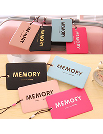 Softshell Color Will Be Random Word MEMORY Simple Design Soft Rubber Household goods
