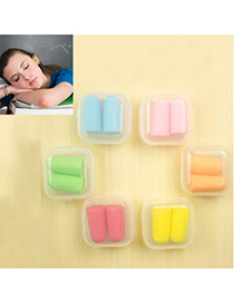 Long color will be random candy color simple design sponge Other Creative Stationery