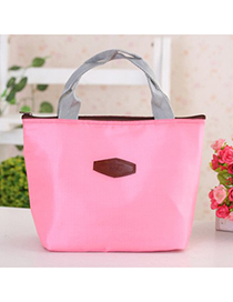 Sullen Pink Portable thermal insulation bag lunch bag