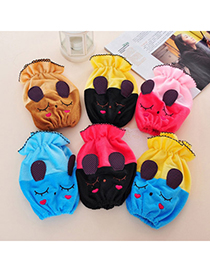 Roller Color Will Be Random Rabbit Pattern Simple Design Fabric Household goods