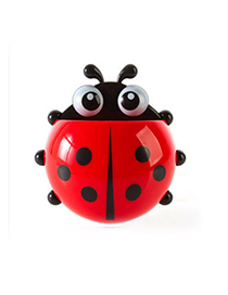 Specialty Red Ladybug Shape Simple Design Plastic Household Goods