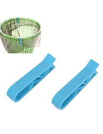Mechanic Blue Pure Color Simple Design (2pcs) Plastic Household Goods