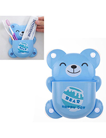 Contempora Blue Bear Shape Simple Design Plastic Household Goods