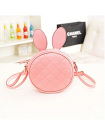 Preferential Pink Rabbit Ears Shape Simple Design