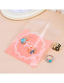 Sweet Pink Lace&bowknow Pattern Simple Design Polypropylene Jewelry Tools