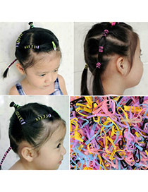 Concise Multicolor Candy Color Simple Design