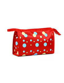 Fashion Red Dot Pattern Simple Design  Waterproof Cloth Home Storage Bags