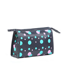 Fashion Gray Dot Pattern Simple Design Waterproof Cloth Home Storage Bags