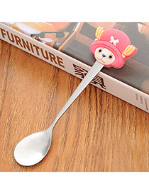 Personality Red Cartoon Monkey Decorated Simple Design  Stainless Steel Household goods
