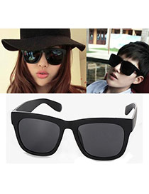 Fashion Black Square Frame Decorated Simple Design