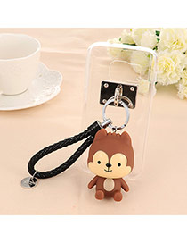Trendy Coffee Doll Pendant Mobile Phone Shell Dots Descendants Of The Sun(for iphnoe6/6s)