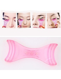 Fashion Pink Pure Color Decorated Simple Tool Of Eyeliner
