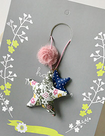 Fashion Green Stars Pendant Decorated Simple Children Choker