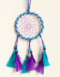 Bohemia Blue+purple Color Matching Decorated Aeolian Bells