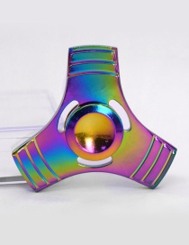 Fashion Multi-color Triangle Decorated Spinner